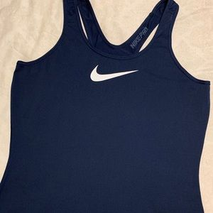 Nike tank top. In good condition. No longer fits.